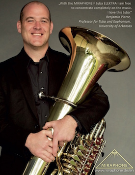ITEA Spring Journal Advert Miraphone Ben Pierce