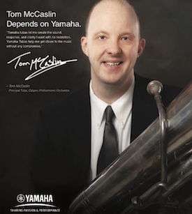 ITEA Spring Journal Advert yamaha Tom McCaslin